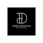 DARIA HOMUTOVA BEAUTY Logo