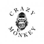 BARBER SHOP CRAZY MONKEY Logo