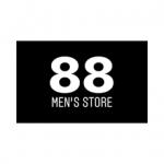 88 MENS STORE Logo