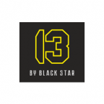BARBERSHOP 13 BY BLACK STAR Logo