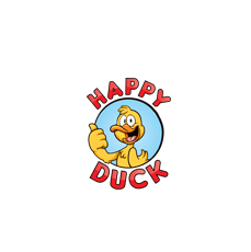 HAPPY DUCK Logo