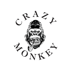BARBER SHOP CRAZY MONKEY Logo